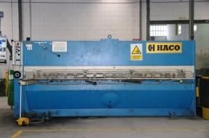 Cizalla HACO. Para la realización de cortes de chapa hasta 6mm.